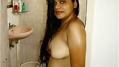 Indian Bhabhi Neha Nair With Her Husband Juicy Boobs Fondled
